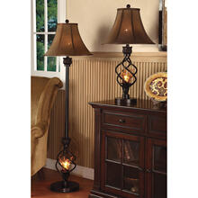 "58""h Floor Lamp / Night Light"