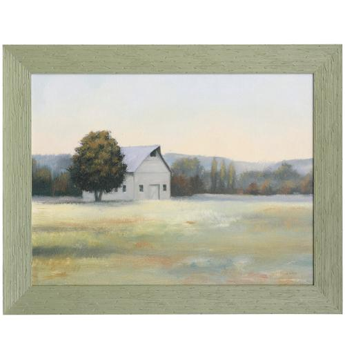 Style Craft - MORNING MEADOWS II  48 X 38  Made in USA  Textured Framed Print