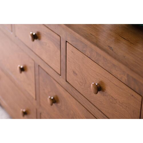 Shaker 7-Drawer Dresser, Large