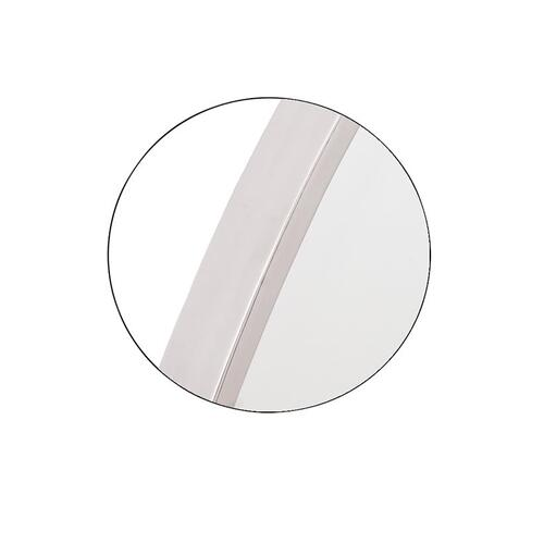 Kit Oval Mirror Satin Nickel