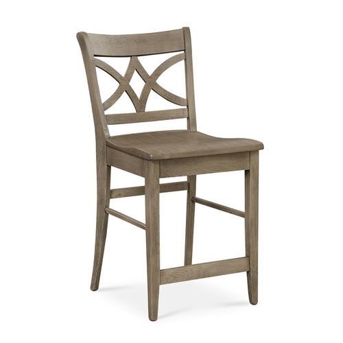 Bassett Furniture - Merrill Oak Counter Stool