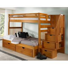 Sacramento Bunk With Staircase With Full Kit With Ubc