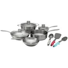 Frigidaire ReadyCook™ 11 Piece Cookware and Utensil Set