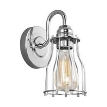 Calgary 1 - Light Sconce Chrome