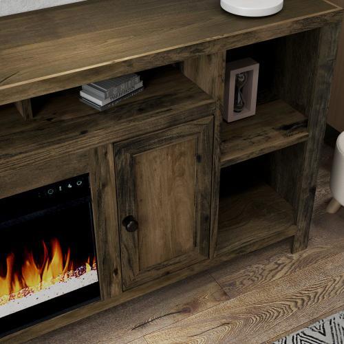 "Joshua Creek 84"" Super Fireplace"