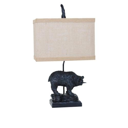Crestview Collections - Fishing Bear Table Lamp