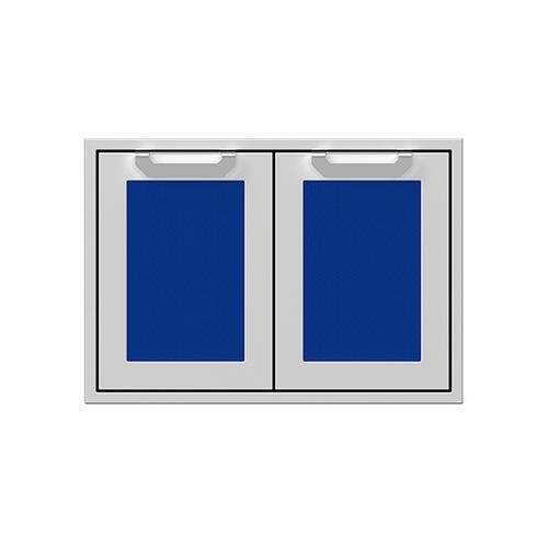 """Hestan - 30"""" Hestan Outdoor Double Storage Doors - AGSD Series - Prince"""