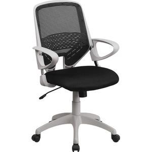 Mid-Back Black Mesh Swivel Task Chair