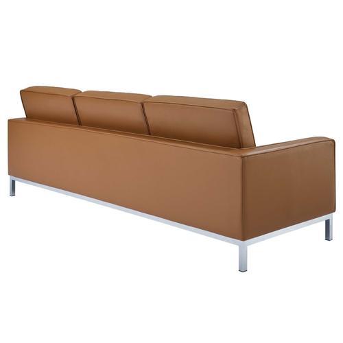 Loft Leather Sofa in Tan