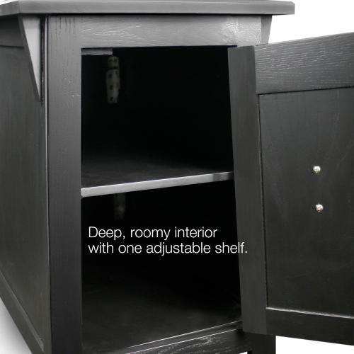 Leick Furniture Inc - Mission Cabinet End #10032-SL