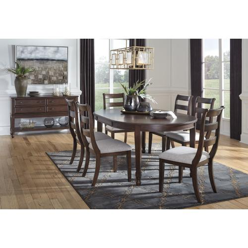Ashley - Dining Table and 6 Chairs With Storage