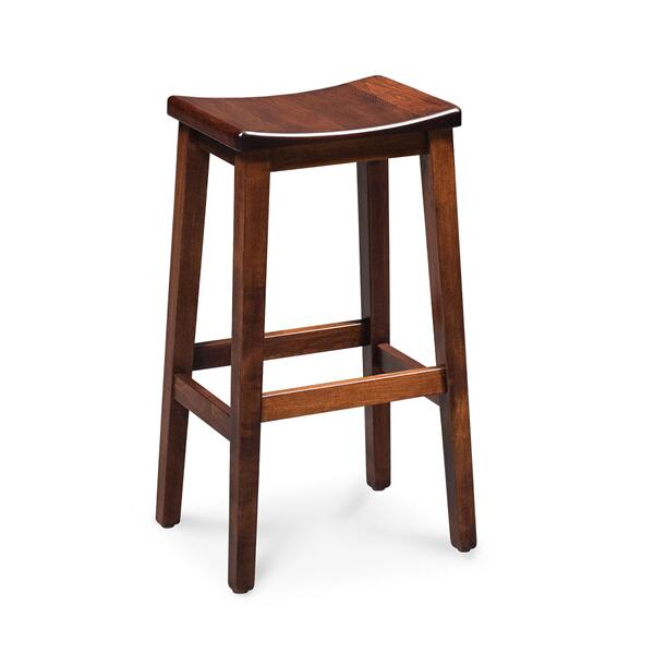 "Sally Stationary Barstool, Sally Stationary Barstool, 30""h, Fabric Seat"