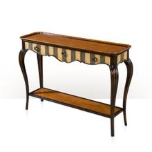 View Product - Artful Curve Console, Gris & Ivory