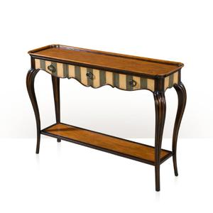 Theodore Alexander - Artful Curve Console, Gris & Ivory