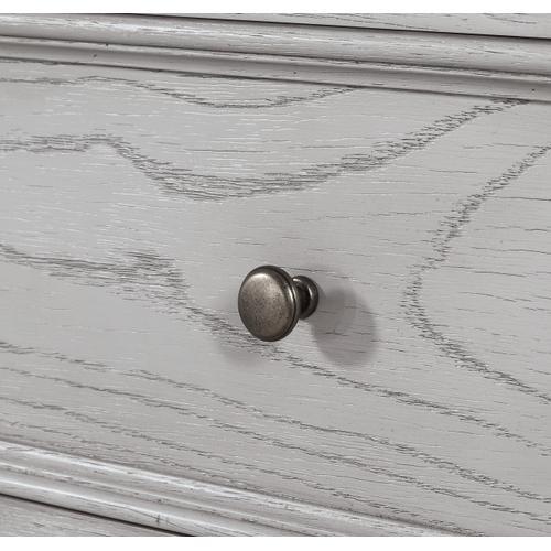 Legends 5-drawer Chest, Light Gray