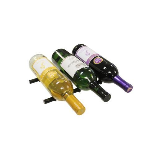 Black Secure Hold Wine Pegs (3 Bottles Deep)