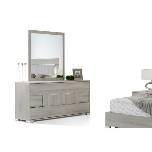 Modrest Ethan Italian Modern Grey Mirror
