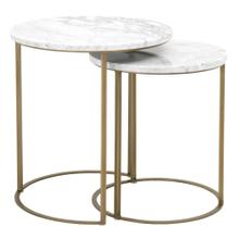 See Details - Carrera Round Nesting Accent Table
