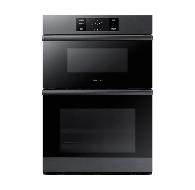 """Dacor30"""" Combi Wall Oven, Graphite Stainless Steel"""