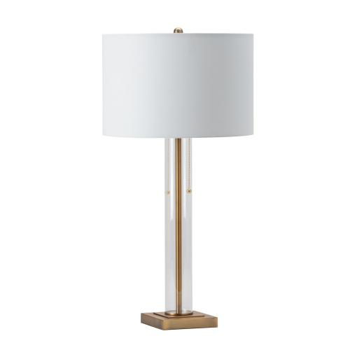Crestview Collections - Enlight Pull Chain Table Lamp
