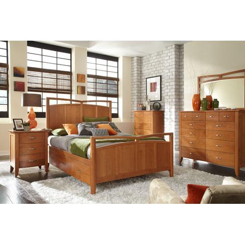 Gallery - Monarch Panel Bed, Queen Floor Model Clearance