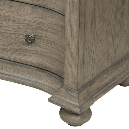 Ella Nightstand in Gray