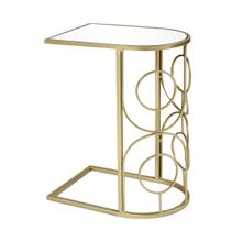 Curved Accent Table