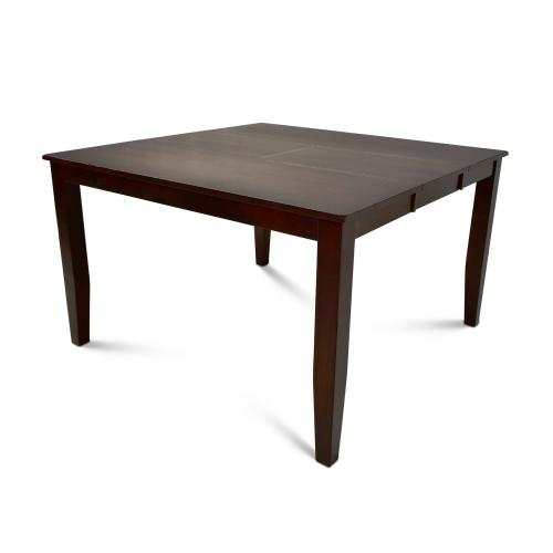 "Victoria 54-inch Counter Table w/18"" Butterfly Leaf"