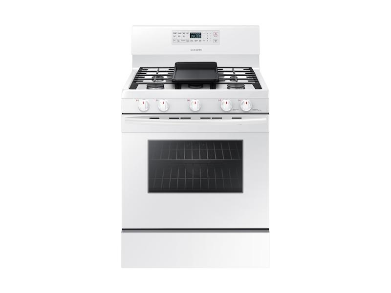 Samsung5.8 Cu. Ft. Freestanding Gas Range With Convection In White