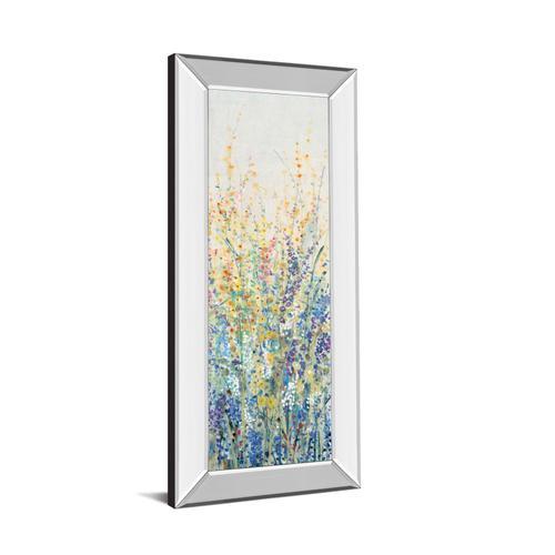 """Wildflower Panel I"" By Tim Otoole Mirror Framed Print Wall Art"
