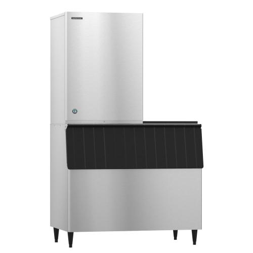 KM-1601SRJ with URC-22F, Crescent Cuber Icemaker, Remote-cooled
