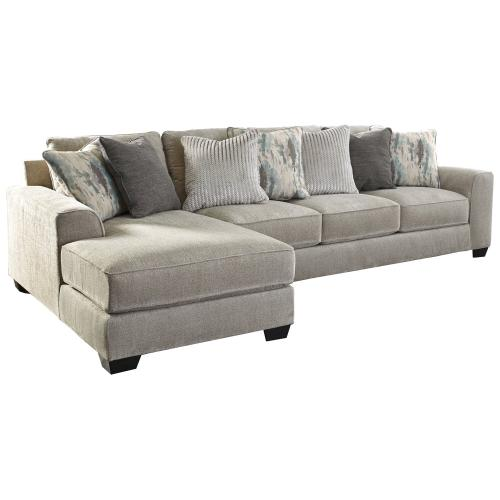 2-piece Sectional With Ottoman