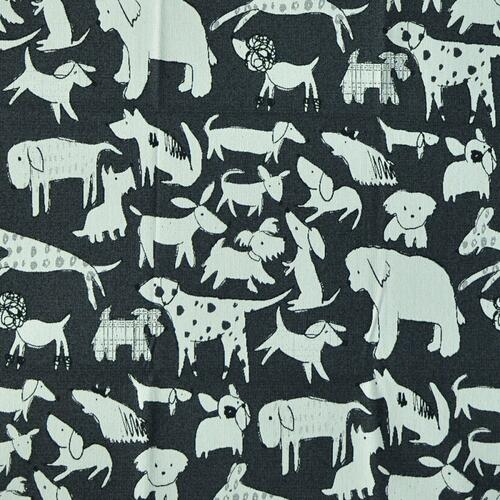 clifford Black Fabric