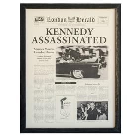 """""""KENNEDY ASSASSINATED"""""""
