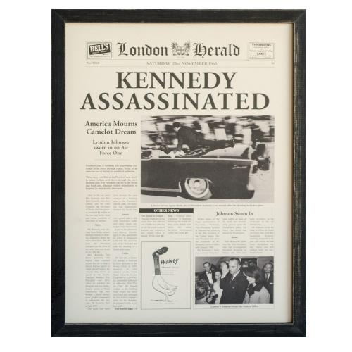 """KENNEDY ASSASSINATED"""