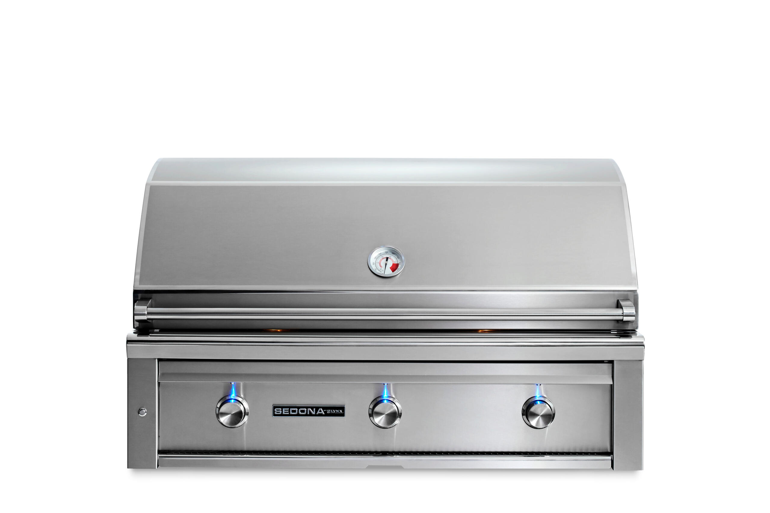 """Lynx42"""" Sedona By Lynx Built In Grill With 3 Stainless Steel Burners, Lp"""