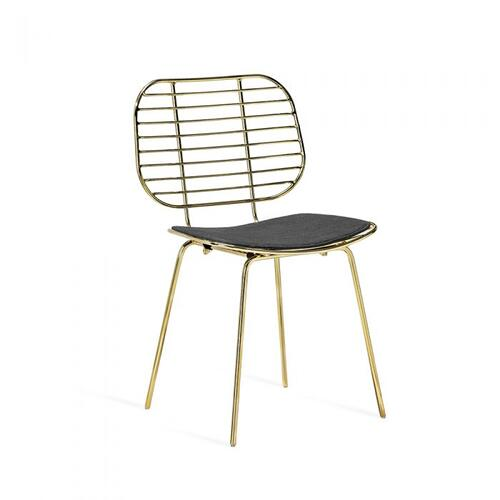 Harriet Dining Chair - Brass