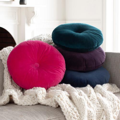 "Cotton Velvet CV-039 18"" x 18"" Round"