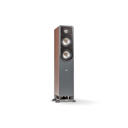 Signature Series HOME THEATER TOWER SPEAKER in Classic Brown Walnut
