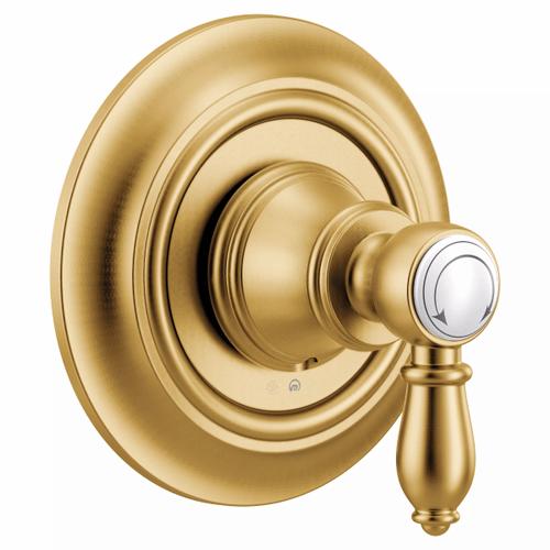 Weymouth brushed gold m-core transfer m-core transfer valve trim