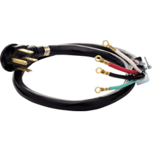 Smart Choice 4' 50-Amp. 4-Prong Range Cord