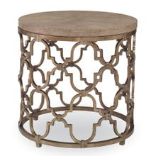 Filigree End Table - Winter Aspen