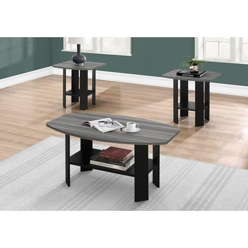 Gallery - TABLE SET - 3PCS SET / BLACK / GREY TOP