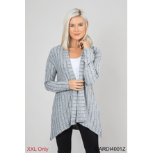 Pinstripe Party Cardigan - XXL (2 pc. ppk.)