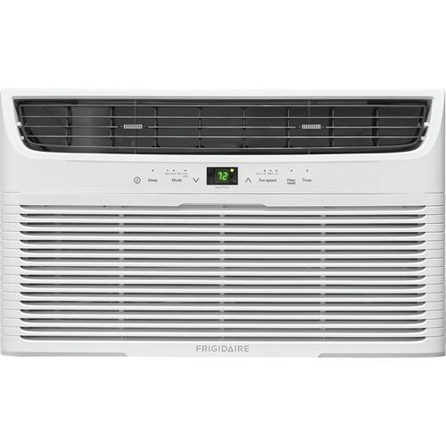 Frigidaire - Frigidaire 8,000 BTU Built-In Room Air Conditioner with Supplemental Heat- 115V/60Hz