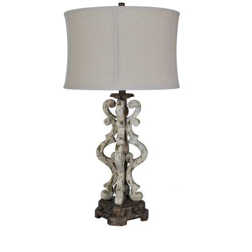 Mariposa Corner Table Lamp