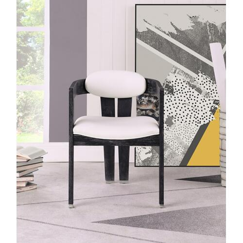 "Vantage Faux Leather Dining Chair - 22.5"" W x 23"" D x 31"" H"