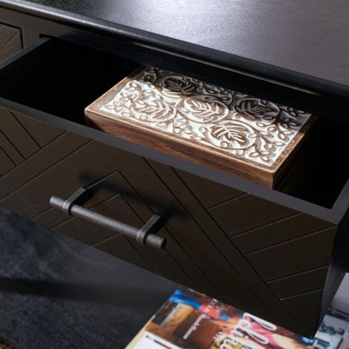 Safavieh - Peyton 3 Drawer Console Table - Black