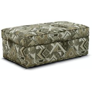England Furniture2A0081N June Storage Ottoman with Nails