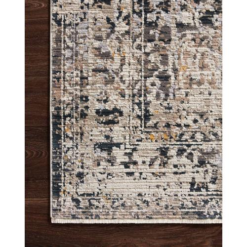 LEI-03 Charcoal / Taupe Rug
